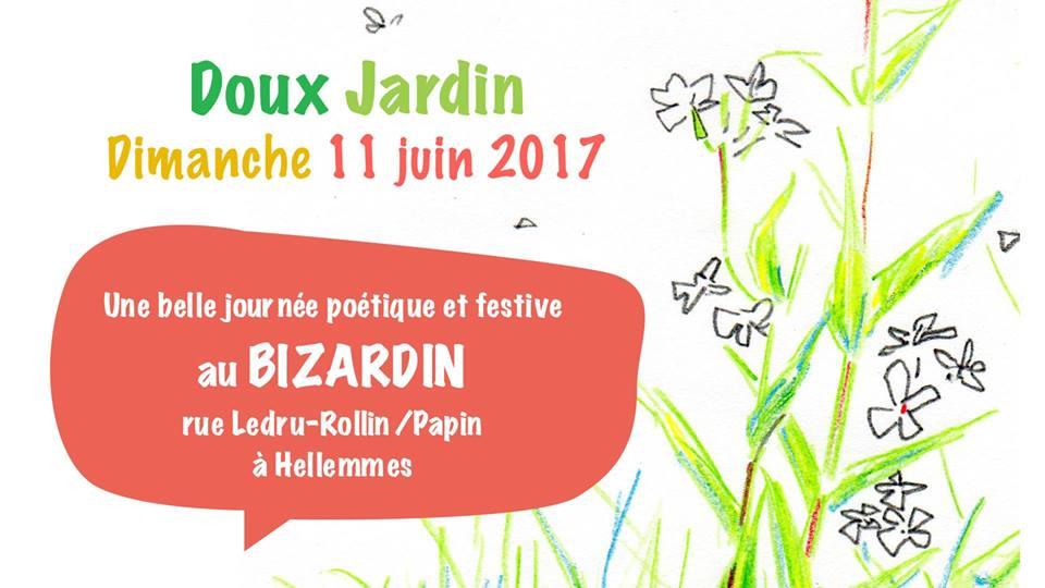 Doux Jardin, dimanche 11 juin 2017