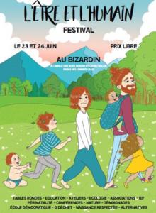 Samedi 23 et Dimanche 24 juin 2018 – Festival «L'être et l'Humain»