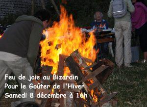 Samedi 8 décembre à 16h : Goûter de l'Hiver