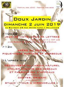 Le Doux Jardin – Dimanche 2 juin 2019